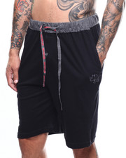 Loungewear - Cotton Knit Sleep Shorts-2273135
