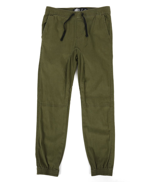 Brooklyn Cloth - Basic Twill Jogger Pants (8-20)