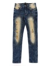 Jeans - Flex Ripped Skinny Denim Jeans (8-20)-2272211