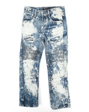 Bottoms - Moto Rip And Repair Jeans (4-7)-2270399