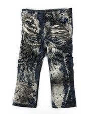 Bottoms - Moto Rip And Repair Jeans (2T-4T)-2270408
