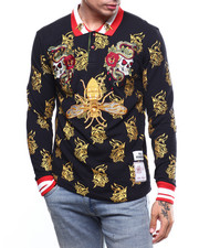 Shirts - SNAKE & SKULL RUGBY SHIRT-2272582