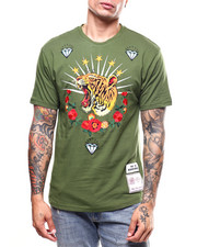 Reason - EMBROIDERED TIGER WREATH TEE-2272528