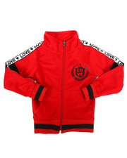 Sizes 2T-4T - Toddler - Color Block Tricot Jacket (2T-4T)-2269680