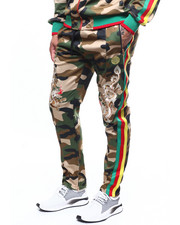 Reason - DRAGONS CAMO TRACK PANT-2272900