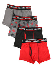 Boys - 4 Pack Boxer Briefs (8-20)-2272643