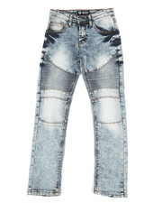 Jeans - Moto Denim Jeans (8-20)-2272294