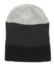 Beanie - Thick Stripe Slouch Beanie-2273143
