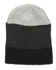 Men - Thick Stripe Slouch Beanie-2273143