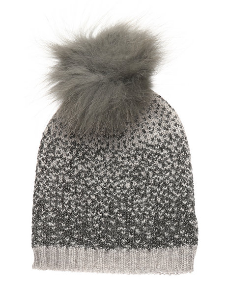 839e96b6415 Buy Ombre Lurex Genuine Raccoon Pom Hat Women s Accessories from ...