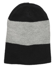 Hats - Thick Stripe Slouch Beanie-2273145