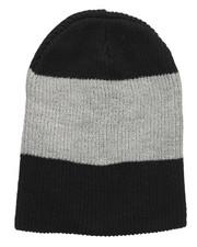 Beanie - Thick Stripe Slouch Beanie-2273145