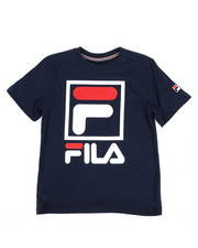 Fila - Stacked Logo Tee (8-20)-2272176