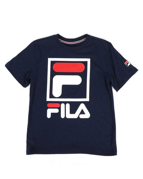 Fila - Stacked Logo Tee (8-20)