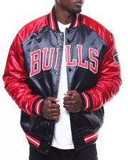Mitchell & Ness - CHICAGO BULLS Tough Season Satin Jacket-2274013