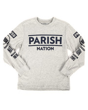 Boys - Long Sleeve Jersey Tee (8-20)-2272274