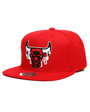 Mitchell & Ness - Chicago Bulls Dripped Snapback Hat-2273174