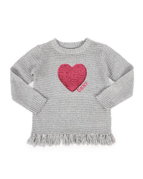 DKNY Jeans - DKNY Sweater w/ Fringe (4-6X)
