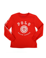 Polo Ralph Lauren - Long Sleeve Jersey Graphic Tee (4-7)-2270438
