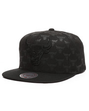 Mitchell & Ness - Chicago Bulls Dark Repeater Snapback Hat -2273173