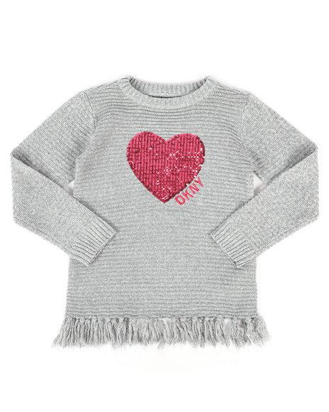 DKNY Jeans - DKNY Sweater w/ Fringe (7-16)