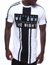 SWITCH - WE OWN THE NIGHT FLOCKED TEE-2242357