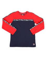 Fila - Long Sleeve Chase Tee (8-20)-2270837