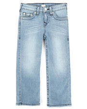 Bottoms - Single End Straight Jeans (4-7)-2273237