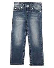 Bottoms - Single End Straight Jeans (4-7)-2273232