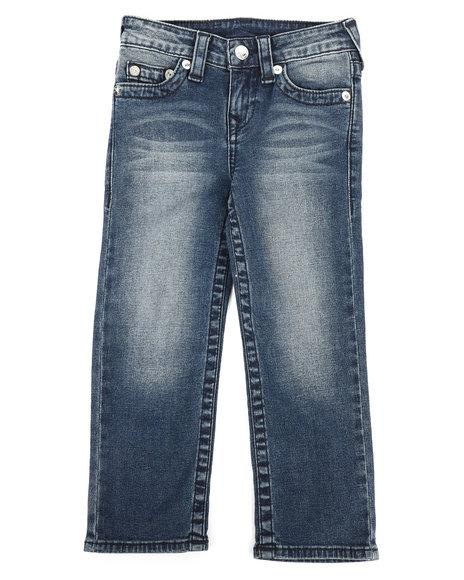 True Religion - Single End Straight Jeans (4-7)