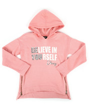 Girls - Sequin Hoodie w/ Side Zip (7-16)-2272335