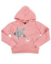 Girls - DKNY Hoodie w/ Sequins (4-6X)-2272325