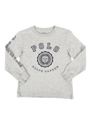 Polo Ralph Lauren - Long Sleeve Jersey Graphic Tee (4-7)-2274379