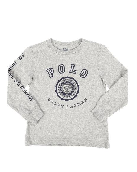 Polo Ralph Lauren - Long Sleeve Jersey Graphic Tee (4-7)