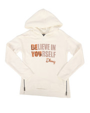 Girls - Sequin Hoodie w/Side Zip (7-16)-2272340