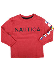 Tops - Long Sleeve Graphic Tee (2T-4T)-2273914