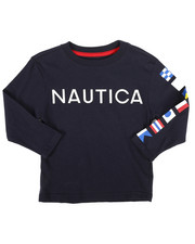 Nautica - Long Sleeve Graphic Tee (2T-4T)-2273910