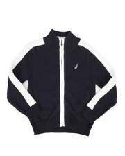 Sweatshirts & Sweaters - Full Zip Stripe Sweater (4-7)-2272235