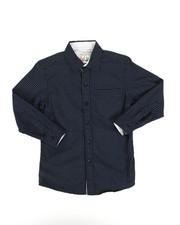Tops - Dot Print Woven Shirt (8-20)-2273585