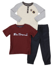 Boys - 3 Piece Knit Set (4-7)-2273288
