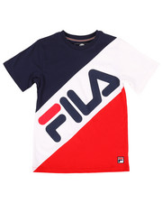 Fila - Banned Color Block Tee (8-20)-2270832