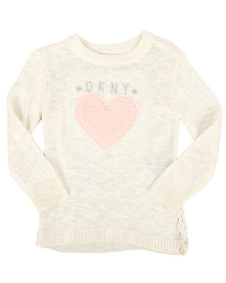 DKNY Jeans - Side Lace Up Sweater (2T-4T)