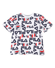Fila - Heritage Allover Logo Tee (8-20)-2272166