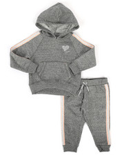 Infant & Newborn - 2 Piece DKNY Hoodie & Sweatpants Set (Infant)-2272139