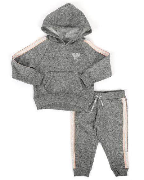 DKNY Jeans - 2 Piece DKNY Hoodie & Sweatpants Set (Infant)