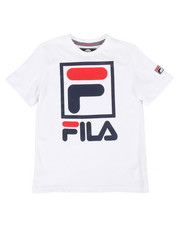 Fila - Stacked Logo Tee (8-20)-2272171