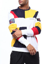 Nordic Down - PRIMARY COLOR NAUTICAL CREWNECK SWEATSHIRT-2275074