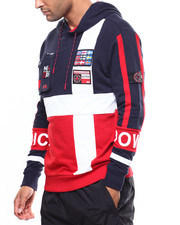 Nordic Down - L/S AMERICANA NAUTICAL HOODY-2275068