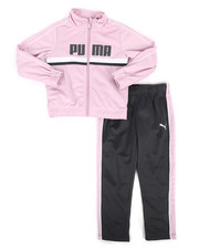 Puma - 2 Piece Tricot Jacket & Pants Set (4-6X)-2271990