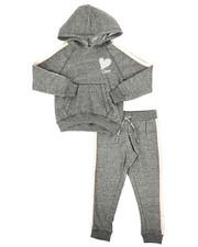 Sizes 4-6x - Kids - 2 Piece DKNY Hoodie & Sweatpants Set (4-6X)-2270480